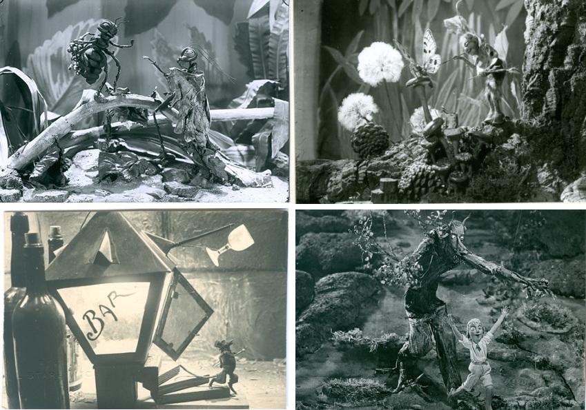 Quatre de les peces exposades de Starewitch