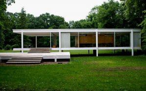 Casa Farnsworth de Mies van der Rohe.