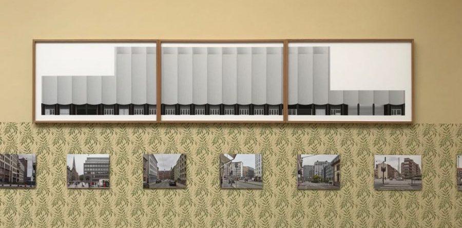 Imatge de l'exposició de Caruso St John de la Bienal de Venècia