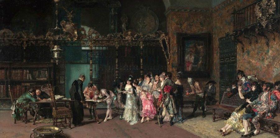 Mariano Fortuny. 'La_vicaria'. Museu Nacional d'Art de Cataluya. 1870.