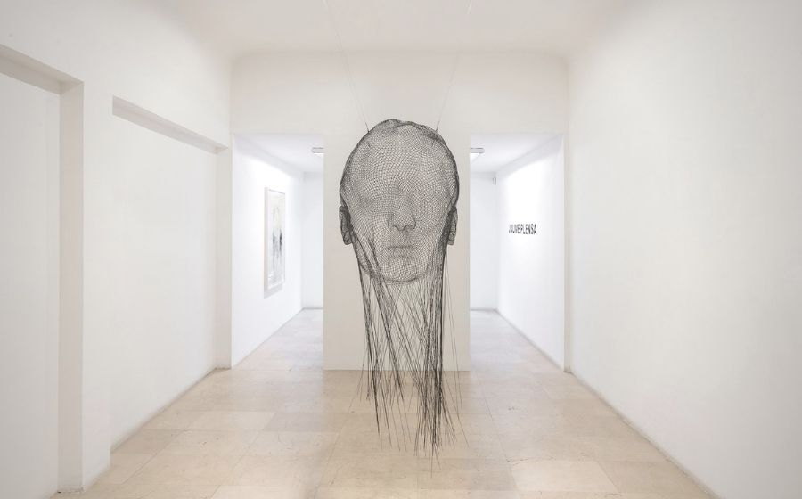 'Invisible Ana', de Jaume Plensa.