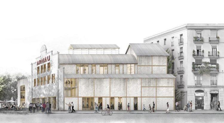 Rehabilitació del Teatre Arnau de Barcelona.