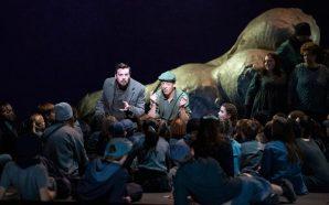 Un 'War Requiem' amb fortes llums al Liceu